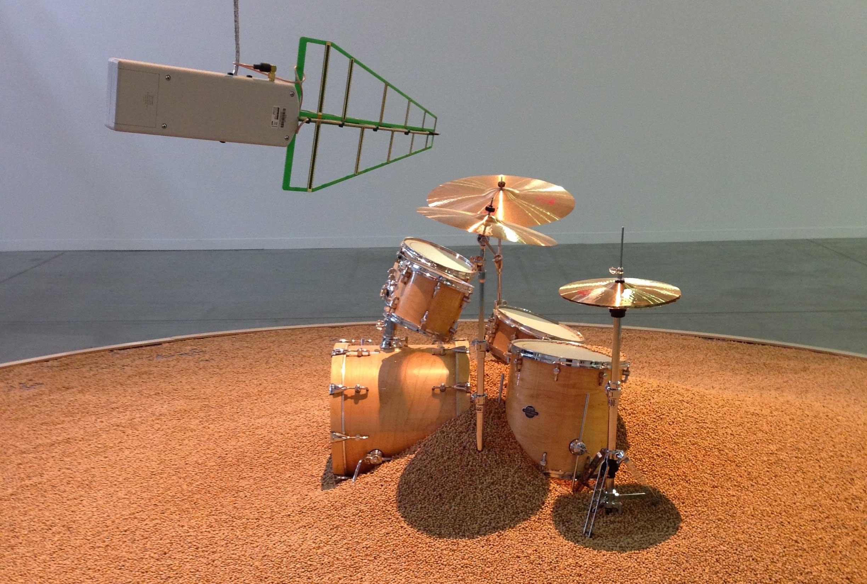 L'oeuvre sonore de Céleste Boursier-Mougenot à la biennale d'art contemporain de Lyon