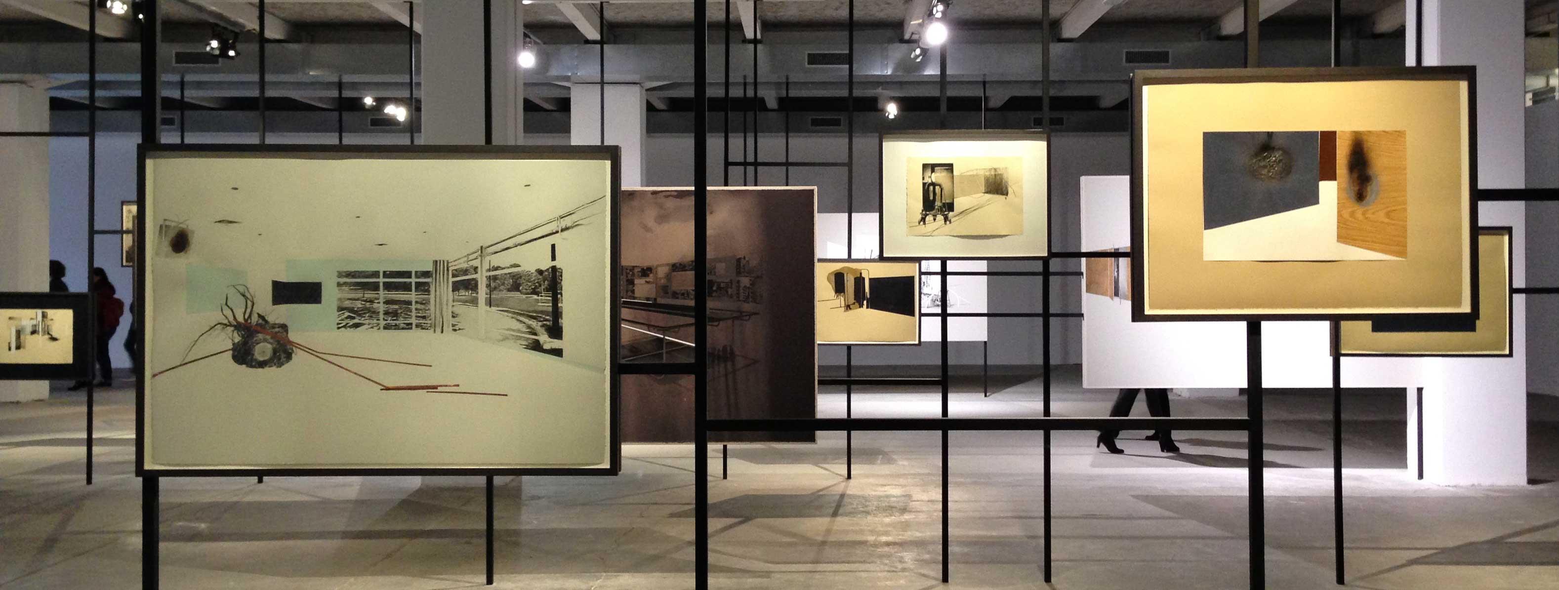 Salle de Tatiana Trouvé à la biennale d'art contemporain de Lyon