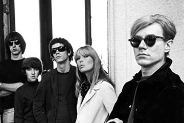 Affiche de l'exposition Andy Warhol